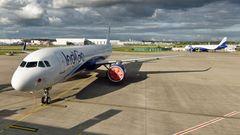 Airbus von Indigo kurz vor der Auslieferung