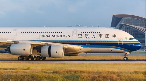 Airbus A380 von China Southern Airlines