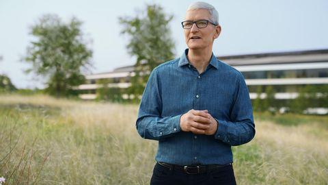 Apple-Chef Tim Cook überlies den Großteil der Präsentationen seinem Team