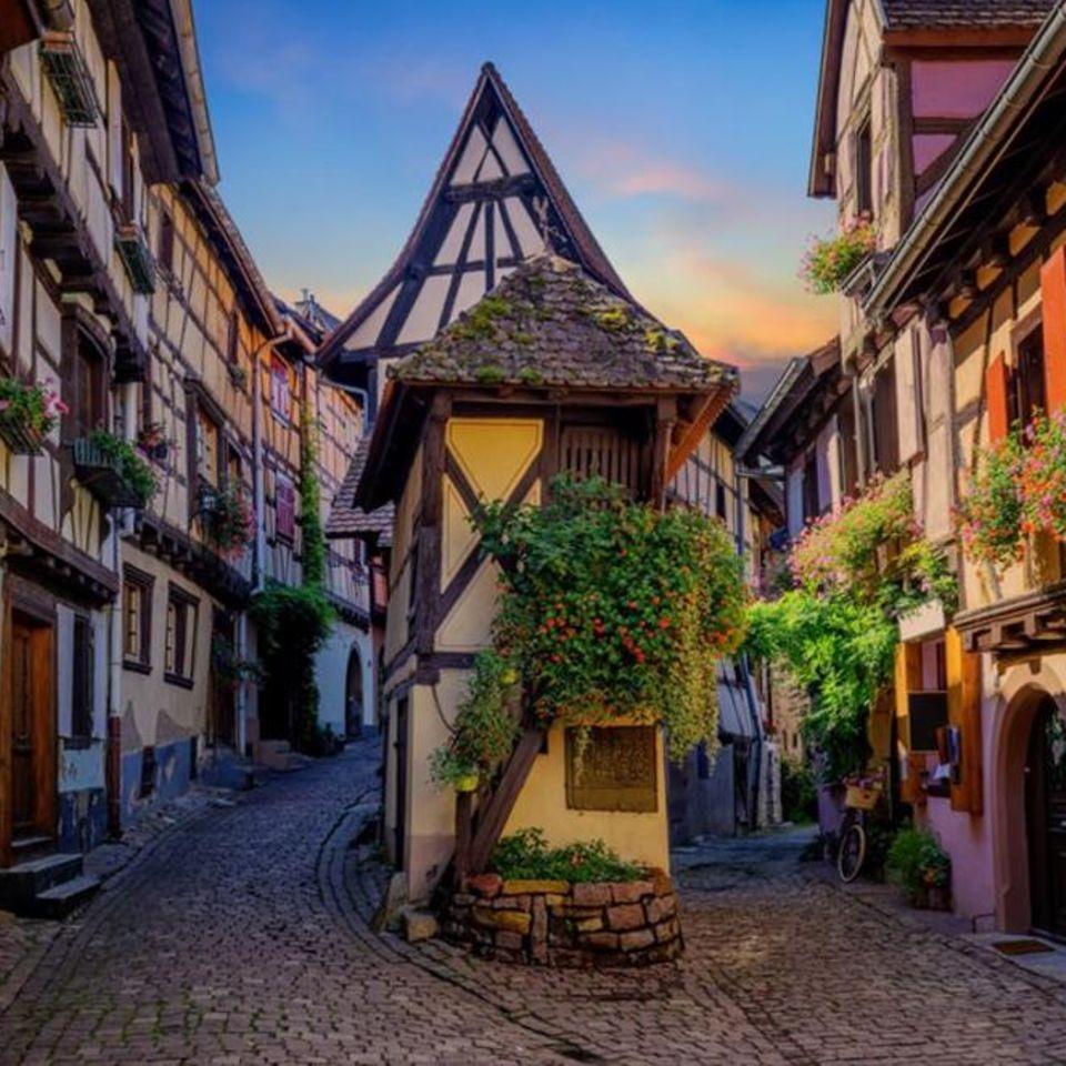 Eguisheim im Elsass