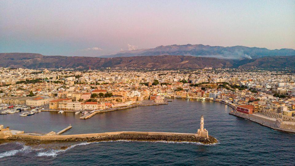 Östlich von Kreta wurde ein Seebeben der Stärke 6,1 gemessen (Archivbild)
