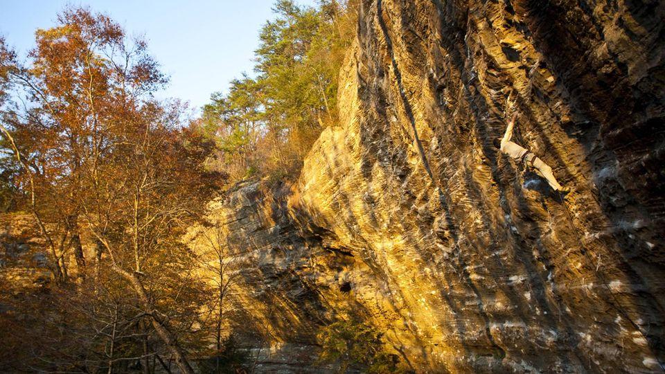 Die Red River Schlucht im Osten Kentuckys ist auch bei Kletterern sehr beliebt (Archivbild)