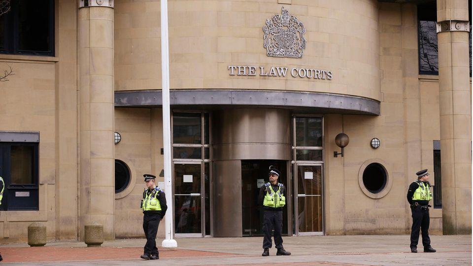 Das Bradford Crown Court, vor dem sich der Täter verantworten musste.