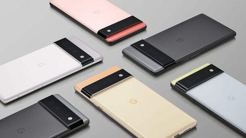 Die neuen Pixel-Smartphones stechen mit einem markanten Designins Auge