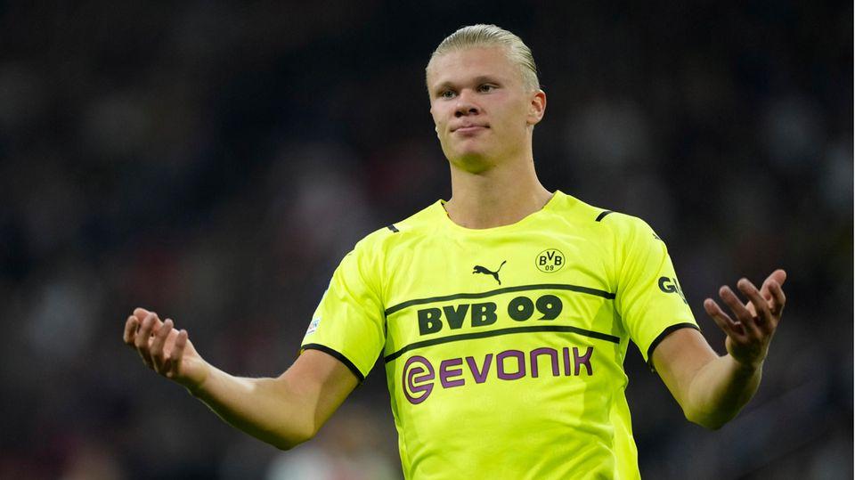 Bei Ajax Amsterdam war für Erling Haaland und den BVB nichts zu holen