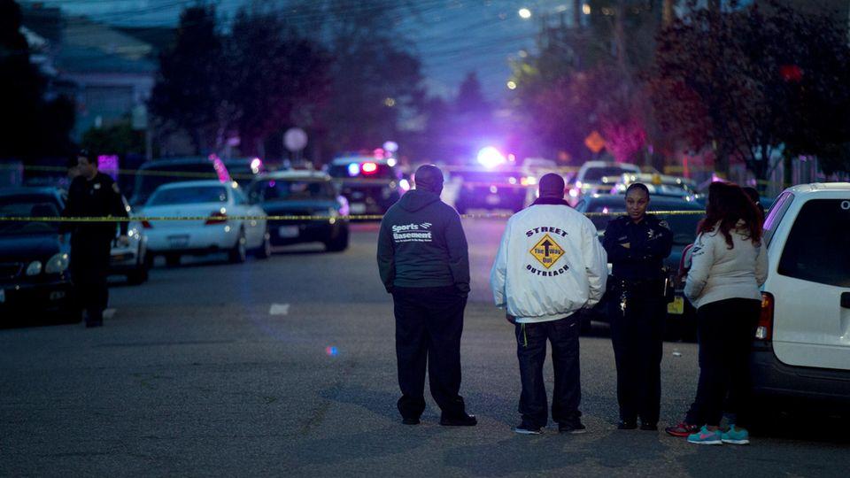 Die Morde in Oakland, Kalifornien, nahmen im letzten Jahr deutlich zu