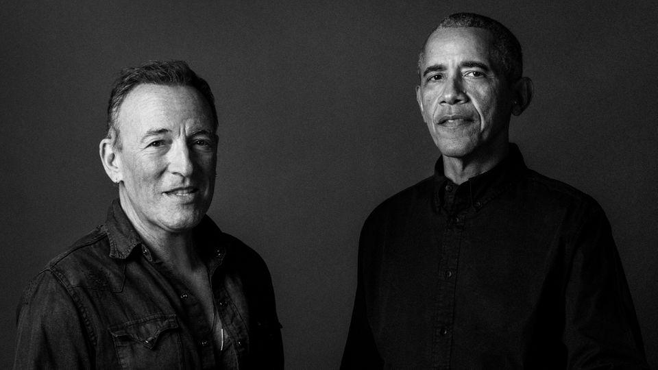 Bruce Springsteen Barack Obama
