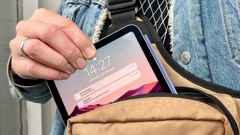 Dank seiner kompakten Größe ist das iPad Mini der perfekte Begleiter