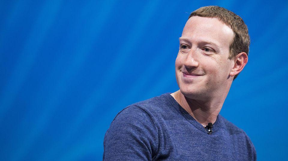 Facebook-Chef undFirmengründer Mark Zuckerberg