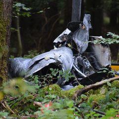 Hubschrauberabsturz Odenwald