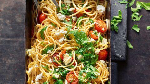 Christian Henze: Die Ofen-Spaghetti bieten eine super Gelegenheit Reste zu verwerten.