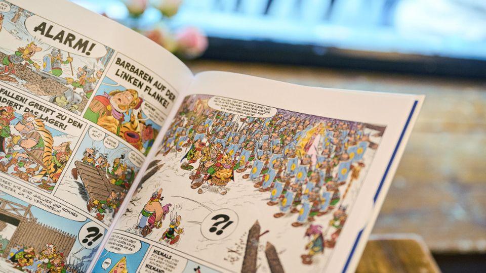 """EinBlick inden neuen Asterix-Band """"Asterix und der Greif"""""""