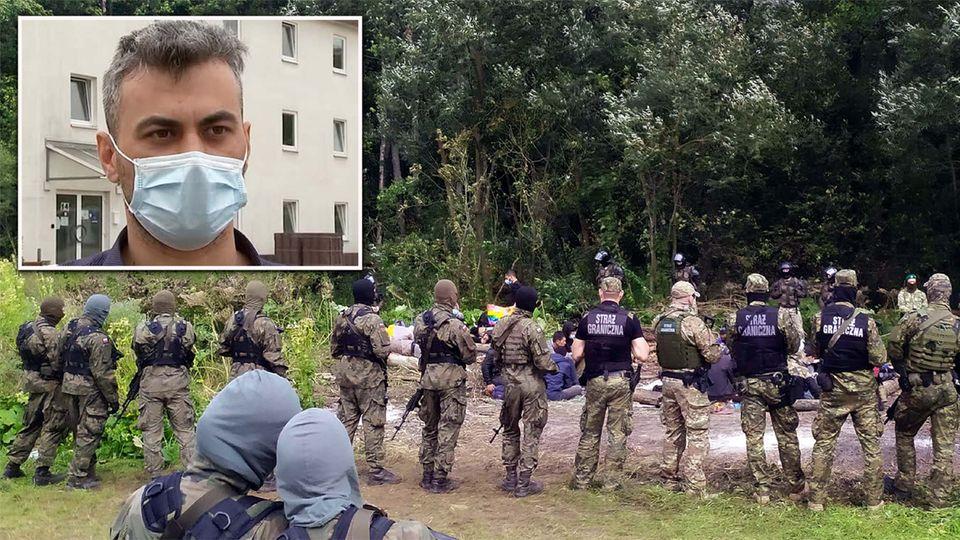 Illegale Pushbacks: Iraker berichtet von Gewalt durch polnische Polizisten