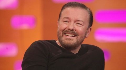 Der britische Comedian Ricky Gervais