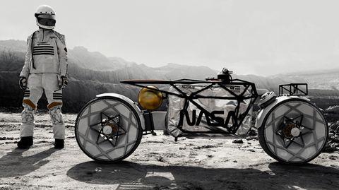 Raumfahrt: Deutsches Unternehmen Hookie designt Motorräder für den Mond