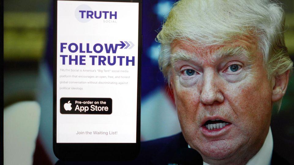 "Trumps neues Netzwerk soll ""Truth Social"" heißen."