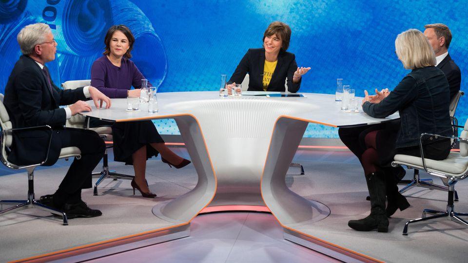 Bei Maybrit Illner wurde über die Finanzierung einer Ampel-Koalition debattiert