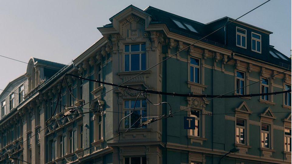 Das Haus, in welchem 2016 zwei Frauen ermordet wurden, im Leipziger Stadtteil Lindenau