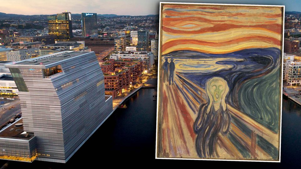 Letzter Schrei am Oslofjord: Munch-Museum in Norwegen eröffnet