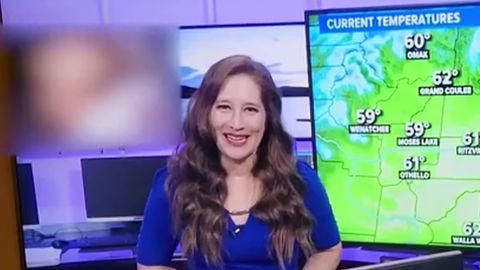 Porno wird im Wetterbericht gezeigt