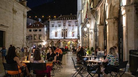 Abends in Dubrovnik