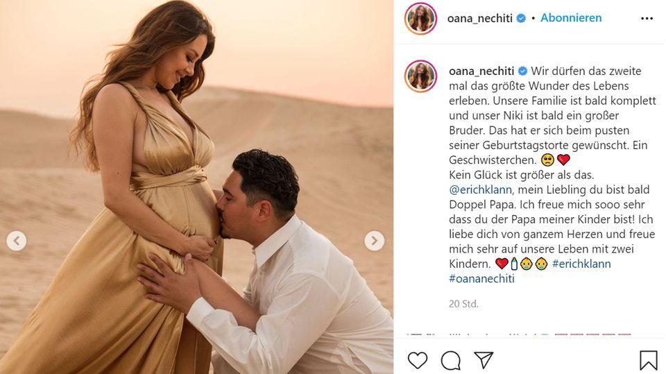 """Vip News: """"Let's Dance""""-Paar: Oana Nechiti und Erich Klann erwarten zweites Baby"""