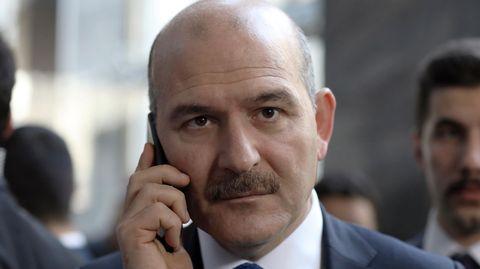 Der türkische Innenminister Süleyman Soylu