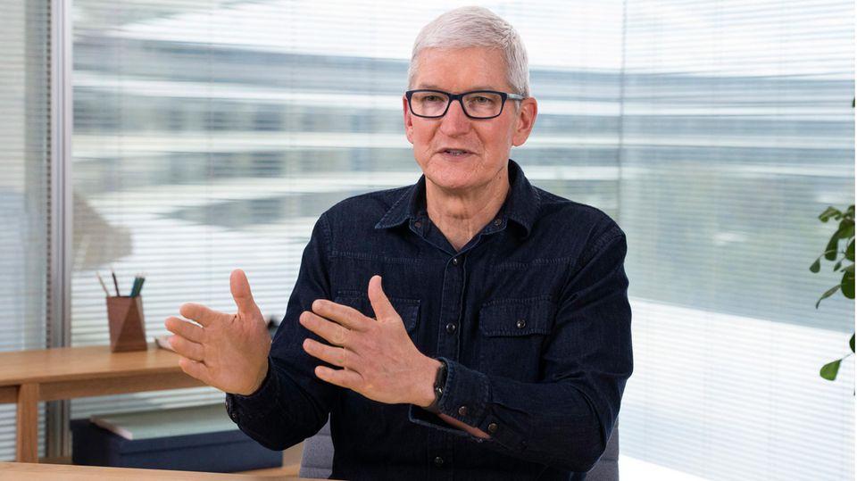 Tim Cook: Apple-CEO Tim Cook sprach mit dem stern über digitale Bildung