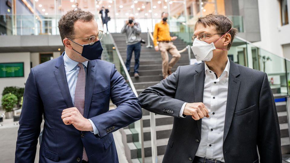 Jens Spahn und Karl Lauterbach