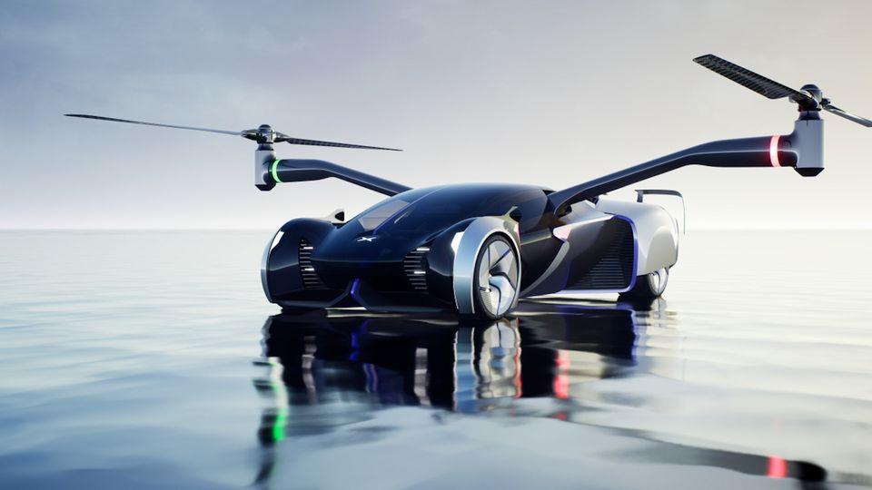 Tesla Rivale: Chinesisches Unternehmen plant, bis 2024 fliegende Autos in Serie zu produzieren