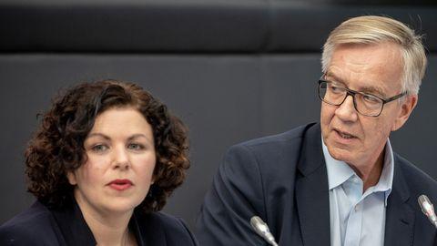 Amira Mohamed-Ali und Dietmar Bartsch