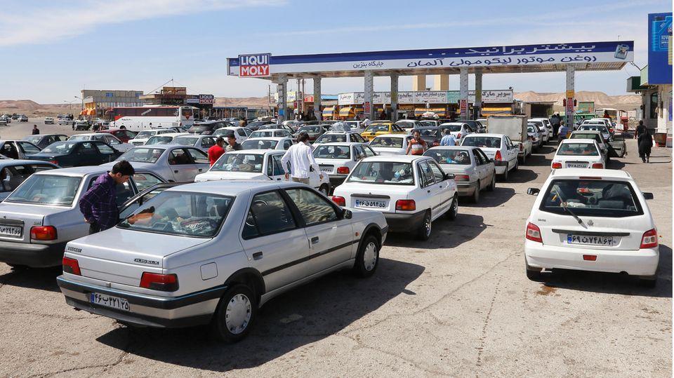 Tankstelle Iran