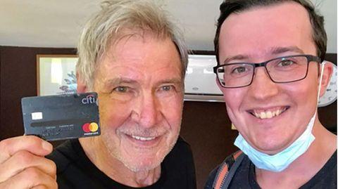 Deutscher Tourist findet Harrison Fords Kreditkarte – der Star bedankt sich persönlich bei ihm