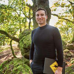 Der einstige Greenpeace-Aktivist Gunter Greiner im Pfälzer Wald