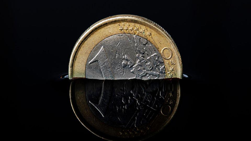 Sinkender Euro