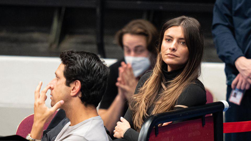 Vip News: Sophia Thomalla verfolgt Tennis-Match von Alexander Zverev in Wien