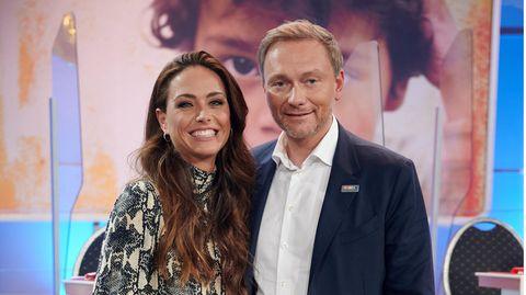 Sind seit 2018 ein Paar: RTL-Journalistin Franca Lehfeldt und FDP-Chef Christian Lindner (Archivbild vom November 2020)