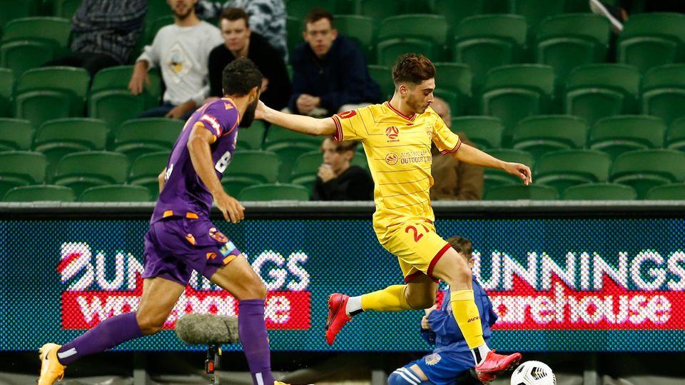 Fußballprofi Joshua Cavallo