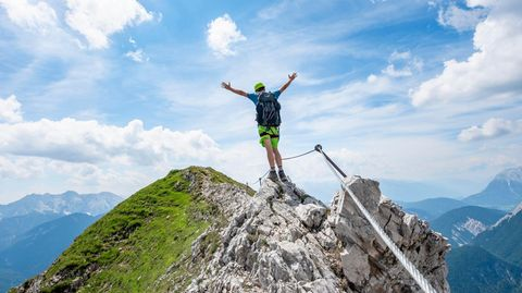 Gipfeltour in Tirol