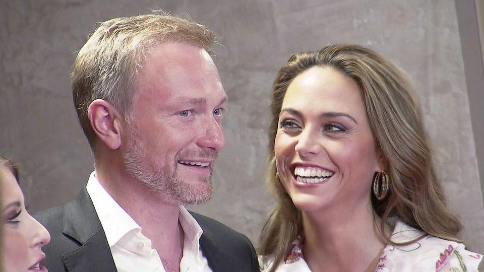 Christian Lindner und Franca Lehfeldt werden heiraten