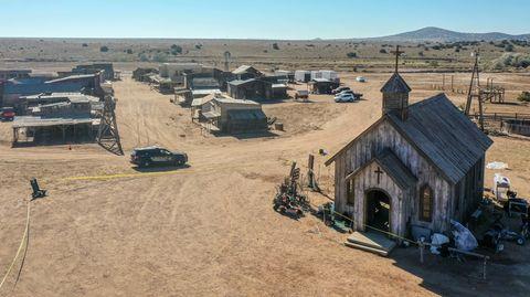 Auf dem Gelände derBonanza Creek Ranch wurde eine Kamerafrau erschossen