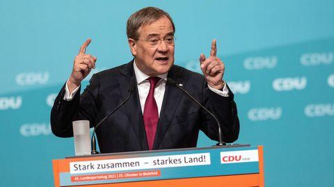 Der CDU-Bundesvorsitzende Armin Laschet