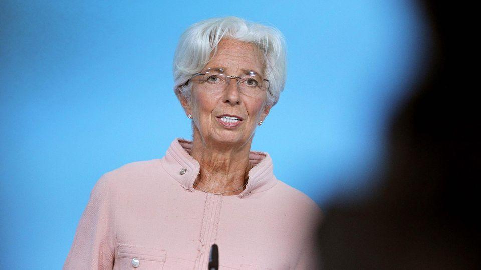 Christine Lagarde, Präsidentin der Europäischen Zentralbank (EZB)