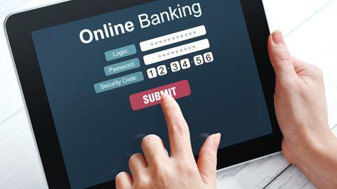 Längst nicht sicher: Online Banking