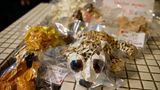 Noch schlechter erging es dem Verkaufsschlager: Kuscheltiere in Plastik vakuumisiert zu 16,99 Euro pro 100 Gramm. Ausverkauft! (Nachschub in Arbeit.)