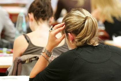 Paukende Schüler: Im Süden Deutschlands wird am besten gelernt