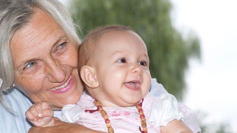 Rentenbeginn war einfach der perfekte Zeitpunkt für ein Baby!