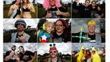 Bei den Kostümen lassen sich die Wacken-Besucher jede Menge einfallen.