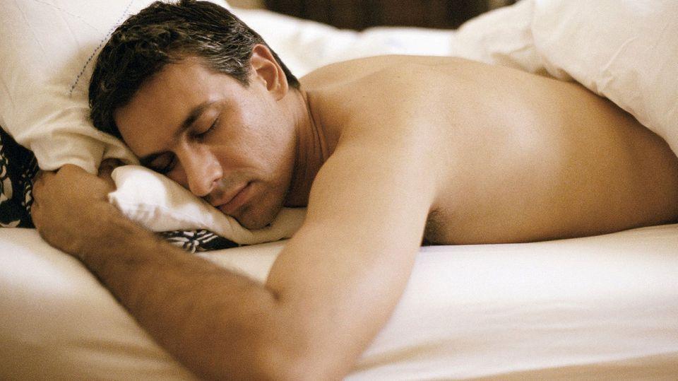 Menschen, die im Schlaf Atemaussetzer haben, merken davon nichts