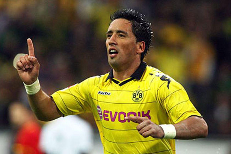 Lucas Barrios war bislang Alleinunterhalter im Dortmunder Sturm - auch in der neuen Saison?
